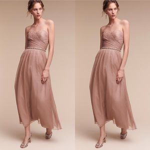 Anthropologie BHLDN Monique Lhuillier Della Dress